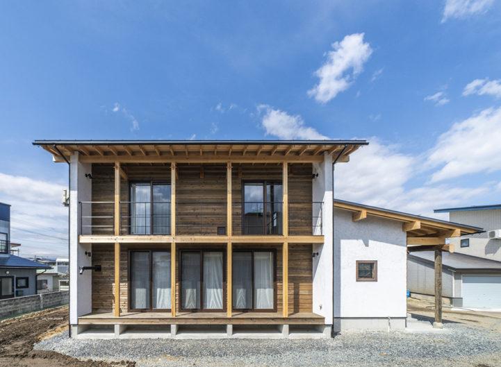 米沢発酵住宅 −左官職人の家−